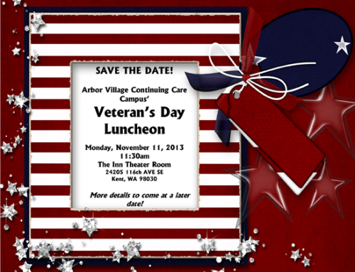 Veteran's Day Luncheon